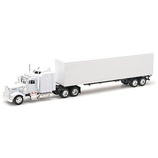NewRay Kenworth W900 Toy Truck- All White