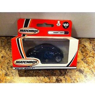 Matchbox Wheeled Envy Volkswagen Concept 1 Beetle Black #60 Of 75