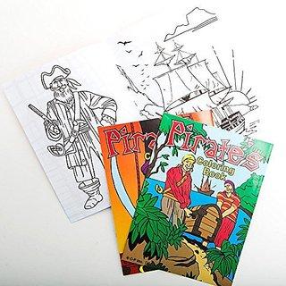 Pirate Coloring Books