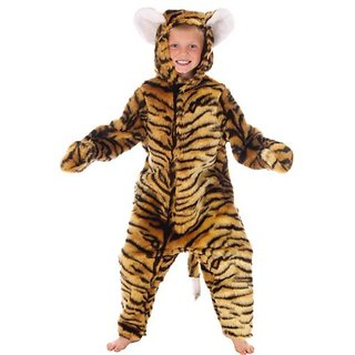 Tiger Costume For Kids 6-8 Yrs