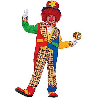 Forum Novelties Clown On The Town Costume, Small