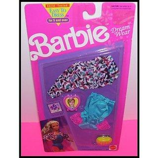 Easy 2 Dress Barbie Doll Lingerie Dream Wear Fashion Clothing Set