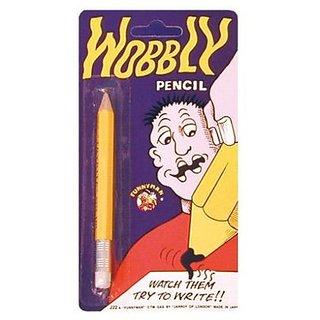 Funny Man Wobbly Pencil