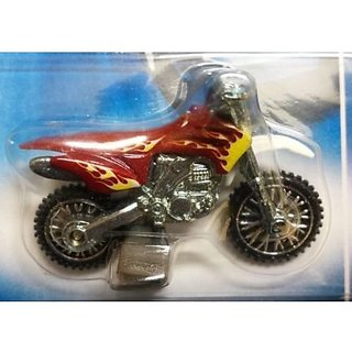 buy hot wheels 2008 all stars hw450f dirt bike 1 64 scale. Black Bedroom Furniture Sets. Home Design Ideas