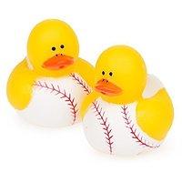 Two Dozen (24pc) Baseball Rubber Duck Party Favors