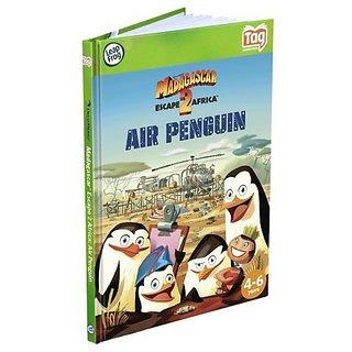 Leapfrog LeapReader &Amp; Tag Activity Storybook Madagascar: Escape 2 Africa Air Penguin