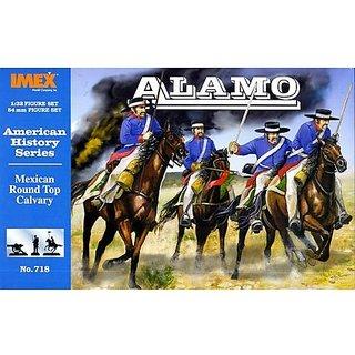 Alamo Mexican Round Top Cavalry 1/32 Imex