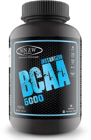 Sinew Nutrition Instantized 2:1:1, 100gm/0.22lb (Unflavoured) BCAA (100 g, Unflavored)