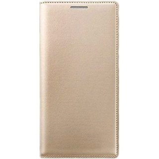 brand new 6ca42 c1017 Lava X17 Flip Cover By - Golden