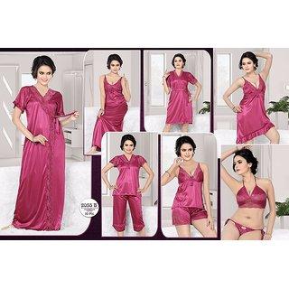 acc38c751b Womens Sleepwear 10pc Bra Panty Spaghetti Top Shorts Robe Babydoll Sleep  Shirt Capri Nighty Over Coat