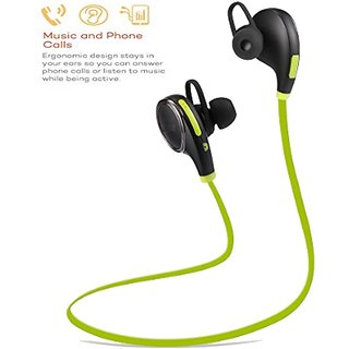 UBEST (US-L12) In Ear Type Stylish Sports Bluetooth Headset for Gym, Running, with FREE CARRY POUCH UBEST-BTHS-132-BLAC