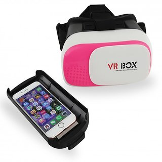 3D Virtual Reality Glasses - Pink