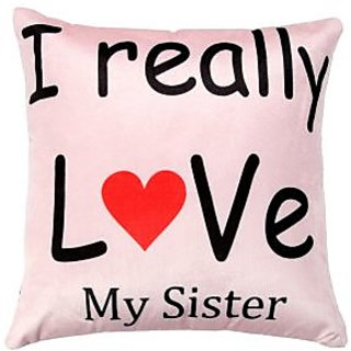 Valtellina sister love printed cushion cover VLCU-066
