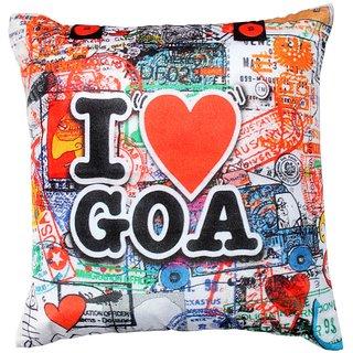 Valtellina goa lovers printed cushion cover VLCU-072