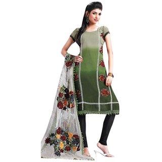 Triveni Multi Party Wear Embroidered Salwar Kameez Tsdzsk5109B (Unstitched)