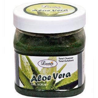 Luster Aloe Vera Face & Body Gel Scrub 500ml