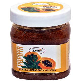 Luster Papaya Face & Body Gel Scrub