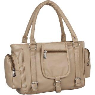 KATVON Beige  Shoulder Bags