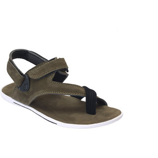 e115f43ae Buy Shoegaro Men Green Sandals Online - Get 70% Off