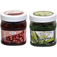 Luster Coffee & Aloe Vera Exfoliating Gel Scrub 500 Ml