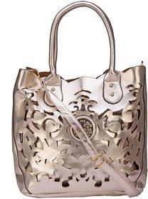 ILU Cutwork Shoulder Bag Tote Bag Sling Bag Satchel Bag