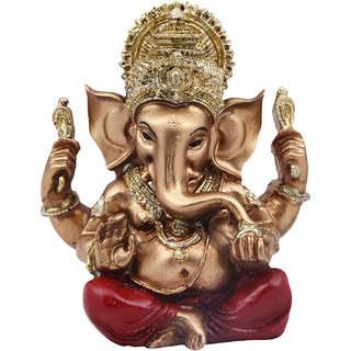 Golden Raja Ganesh (Polymarble)