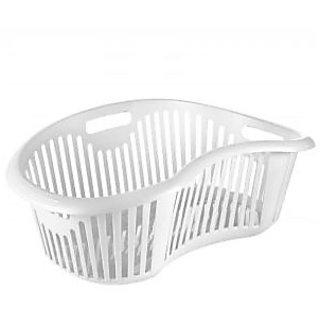Big Laundry Basket White