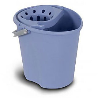 branded Oval Bucket Squeezer Blue Spain