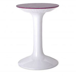Modern Stool Diabolo Orange