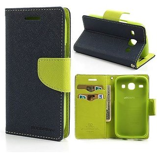Mobimon Mercury Magnetic Lock Diary Wallet Style Flip Cover Case for Samsung Galaxy J2(6) (new 2016) / J2-6 (2016)  J210
