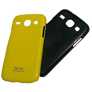 Hard plastic shining back case covers for samsung galaxy core