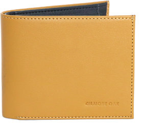 Gilmore Oak Brushoff Mens Leather Wallet 7415 Tan Black