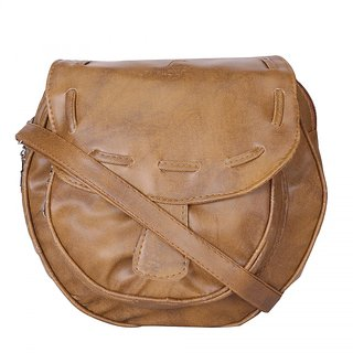SkyWays Walnut Tan Sling Bag: Buy SkyWays Walnut Tan Sling Bag ...