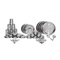 Scitek 42Pcs Stainless Steel Dinner Set With Serving Spoons