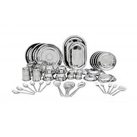 Scitek Complete Family Stainless Steel Dinner Set
