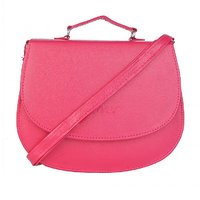 SkyWays Fuschia Pink Sling Bag For Women