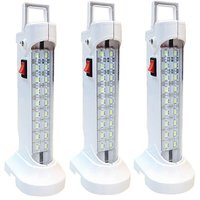 SAHI10 w (578) Rechargeable Emergency Light set of-3