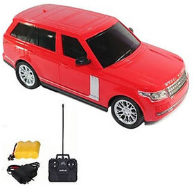 SAPRO Rechargeable Remote Control Range Rover Car 124 (Red/Black)