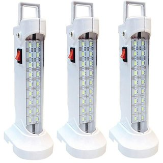 SAHI10 w (578) Rechargeable Emergency Light set of-3