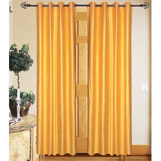 Beautiful set of 2 plain door curtains(THC0414)