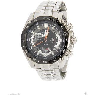 Casio Edifice Chronograph Black Dial Men's Watch - EF-550D-1AVDF