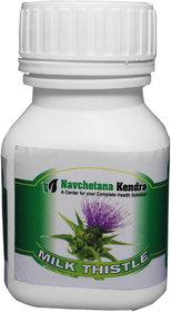 Navchetana Kendra Milk Thistle 60 Capsules 150 Mg
