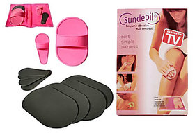 Hair Removal Kit Removes Hair Arms Legs Lip Anywhere Seen On TV New (No of units 10)