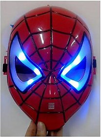 Spiderman Mask Masquerade Mask LED Mask Ball Party Cosplay costume birthday gift