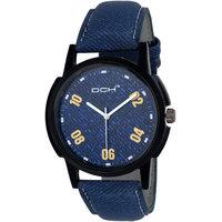 DCH IN-29 Blue Denim Analog Watch For Boys  Men