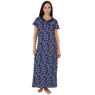 66b26bd1fd7 Buy Fasense Blue Cotton Nighty Online - Get 66% Off