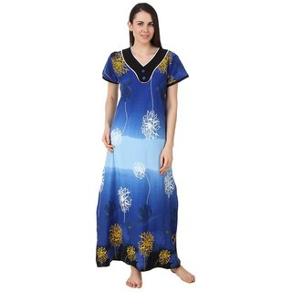 bb8d001cf55 Buy Fasense Multi Color Cotton Nighty Night Gowns Online - Get 66% Off