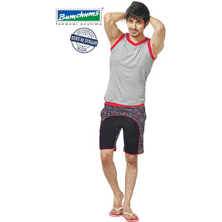 Bumchums Mens Multicolor Shorts