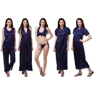 Fasense Satin Nighty  Night Gowns