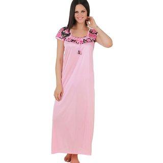 Fasense Pink Satin Nighty